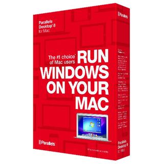 Parallels Desktop 8.0 Deutsch Office FPP Mac (DVD)