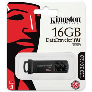 16 GB Kingston Data Traveler 111 schwarz USB 3.0