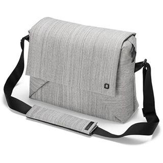 "Dicota Notebooktasche Bounce Messenger für 15"", grau/schwarz"