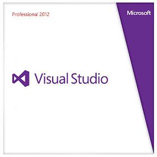 Microsoft Visual Studio 2012 Professional inkl. 1Jahr MSDN 32/64 Bit