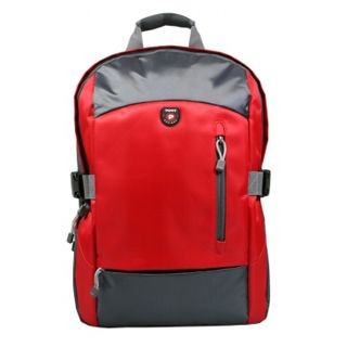 "Port Monza Backpack Red Tasche bis 15,6"" (39,62cm)"