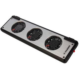Xilence Notebook-Kühler S100 3x60mm Lüfter , silber