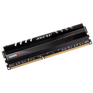 8GB Avexir Core Series blaue LED DDR3-1333 DIMM CL9 Single