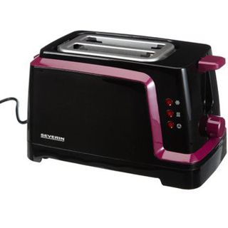 Severin Automatik-Toaster AT 2592 sw/lila