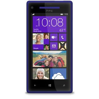 HTC Windows Phone 8X 16 GB blau