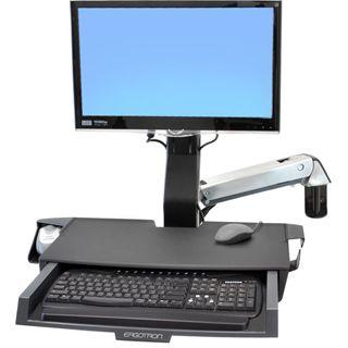 Ergotron StyleView Sit-Stand Combo System Tischhalterung schwarz/grau