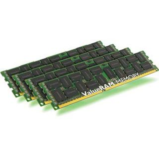 64GB Kingston ValueRAM DDR3-1333 regECC DIMM CL9 Quad Kit