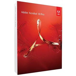 Adobe Acrobat Pro 11 32/64 Bit Deutsch Office EDU-Lizenz PC (DVD)