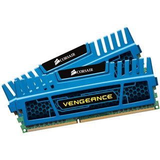16GB Corsair Vengeance blau DDR3-1600 DIMM CL10 Dual Kit