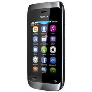 Nokia Asha 308 Dual SIM 128 MB schwarz