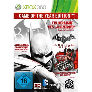 Batman: Arkham City Game of the Year Edition (XBox360)