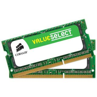 16GB Corsair ValueSelect DDR3-1600 SO-DIMM CL11 Dual Kit