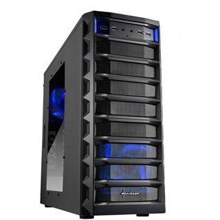 Sharkoon REX 8 Value Midi Tower ohne Netzteil schwarz
