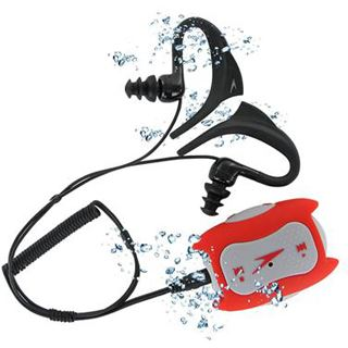 4GB Speedo Aquabeat 1.0 4GO rot/grau