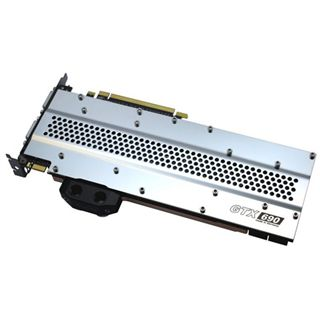 Watercool Heatkiller GPU GTX 690 Backplate für NVIDIA GTX 690 (16005)