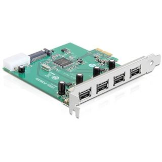 Delock 89253 4 Port PCIe x1 bulk