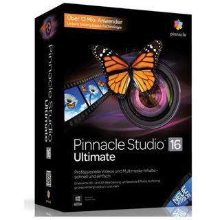 Pinnacle Studio 16 Ultimate 32/64 Bit Multilingual Grafik EDU-Lizenz
