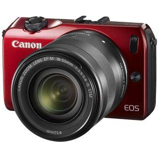 Canon EOS M Kit inklusive EF-M 18-55 mm f/3.5-5.6 IS STM + Speedlite
