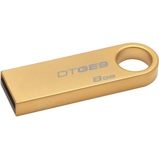 8 GB Kingston DataTraveler GE9 gold USB 2.0