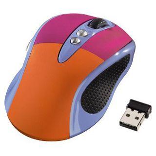 Hama 50417 USB blau/orange/pink (kabellos)