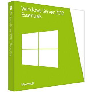 Microsoft Windows Server 2012 Essentials 64 Bit Deutsch OEM/SB 1 User