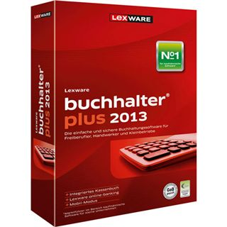Lexware Buchalter Plus 2013 32/64 Bit Deutsch Office Vollversion PC