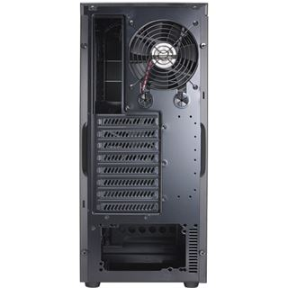 Lian Li PC-7HX Midi Tower ohne Netzteil schwarz