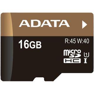 16 GB ADATA Premier Pro UHS-I microSDHC Class 10 Bulk inkl. Adapter
