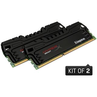 16GB Kingston HyperX Beast DDR3-2400 DIMM CL11 Dual Kit