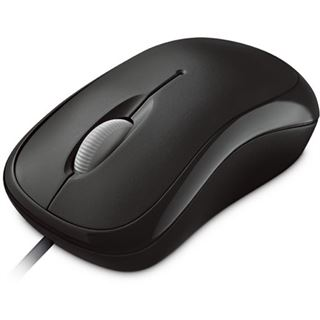Microsoft Basic Optical Mouse OEM USB schwarz (kabelgebunden)