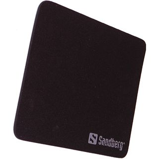 Sandberg Mauspad 260 mm x 220 mm schwarz