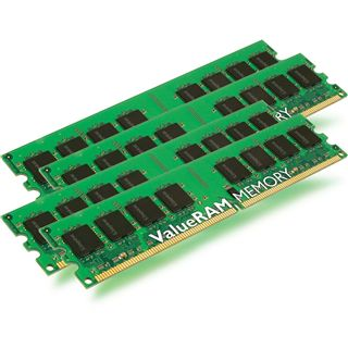 16GB Kingston ValueRAM Intel DDR3-1333 regECC DIMM CL9 Quad Kit