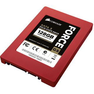 "128GB Corsair Force GS 2.5"" (6.4cm) SATA 6Gb/s MLC synchron (CSSD-F128GBGS-BK)"