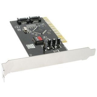 InLine 66698R 2 Port PCI inkl 1x SATA-Anschlusskabel retail