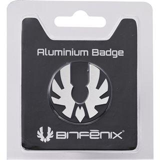 BitFenix Aluminium Badge silber Gehäuse für Prodigy (BFC-PRO-300-SLOG-RP)