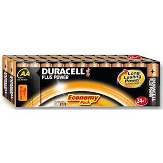 Duracell Plus AA / Mignon Alkaline 1.5 V 24er Pack