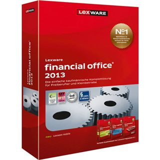 Lexware Financial Office 2013 32/64 Bit Deutsch Office Vollversion PC (CD)