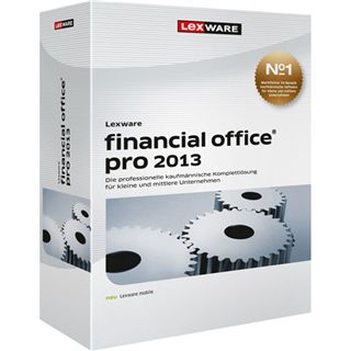 Lexware Financial Office Pro 2013 32/64 Bit Deutsch Office Update PC (DVD)