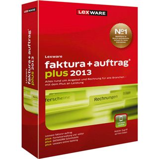 Lexware Faktura + Auftrag Plus 2013 32/64 Bit Deutsch Office Update