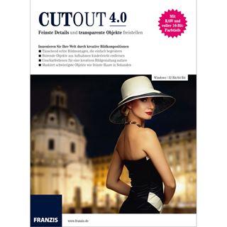 Franzis CutOut 32/64 Bit Deutsch Grafik Vollversion PC/Mac (CD)