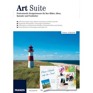 Franzis Art Suite 32/64 Bit Deutsch Grafik Vollversion PC (DVD)