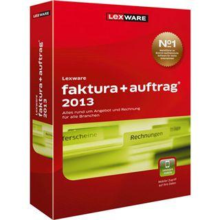 Lexware Faktura + Auftrag 2013 32/64 Bit Deutsch Office Upgrade PC (CD)