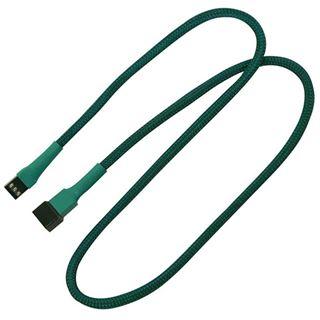 Nanoxia 60 cm grünes Verlängerungskabel für 3-Pin