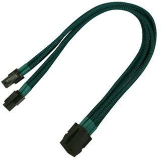 Nanoxia 30 cm grünes Verlängerungskabel für 8-Pin EPS