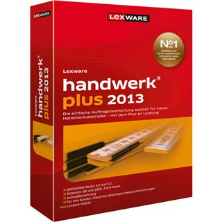 Lexware Handwerk Plus 2013 32/64 Bit Deutsch Office Vollversion PC (DVD)