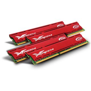 32GB TeamGroup Xtreem Vulcan DDR3-1866 DIMM CL10 Quad Kit
