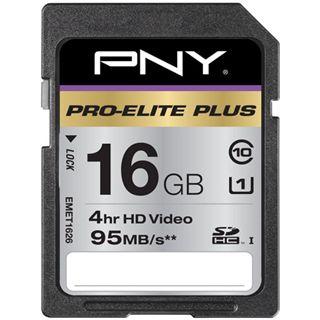 16 GB PNY Pro-Elite Plus SDHC UHS-I Bulk