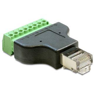 Delock Terminalblock Netzwerkadapter für Kabel (65389)