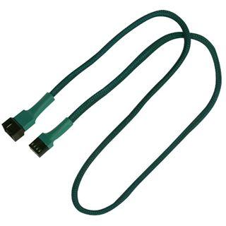 Nanoxia 60 cm grünes Verlängerungskabel für 4-Pin PWM