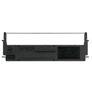 Epson C13S015624 SIDM Black Ribbon Cartridge for LQ-50